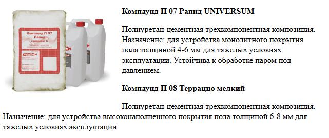 Компаунд П 07 Рапид UNIVERSUM