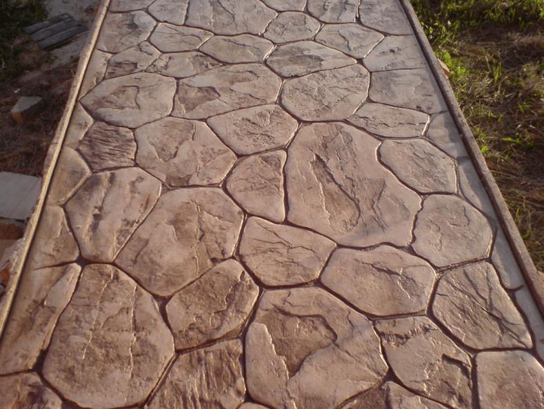 Dekorativnyj бетон