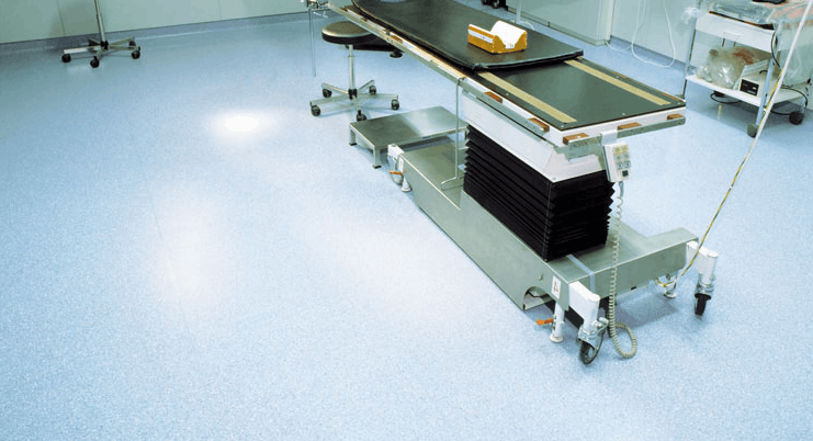 Полы для здравоохранения, мед учреждений