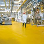 Floor for dairies
