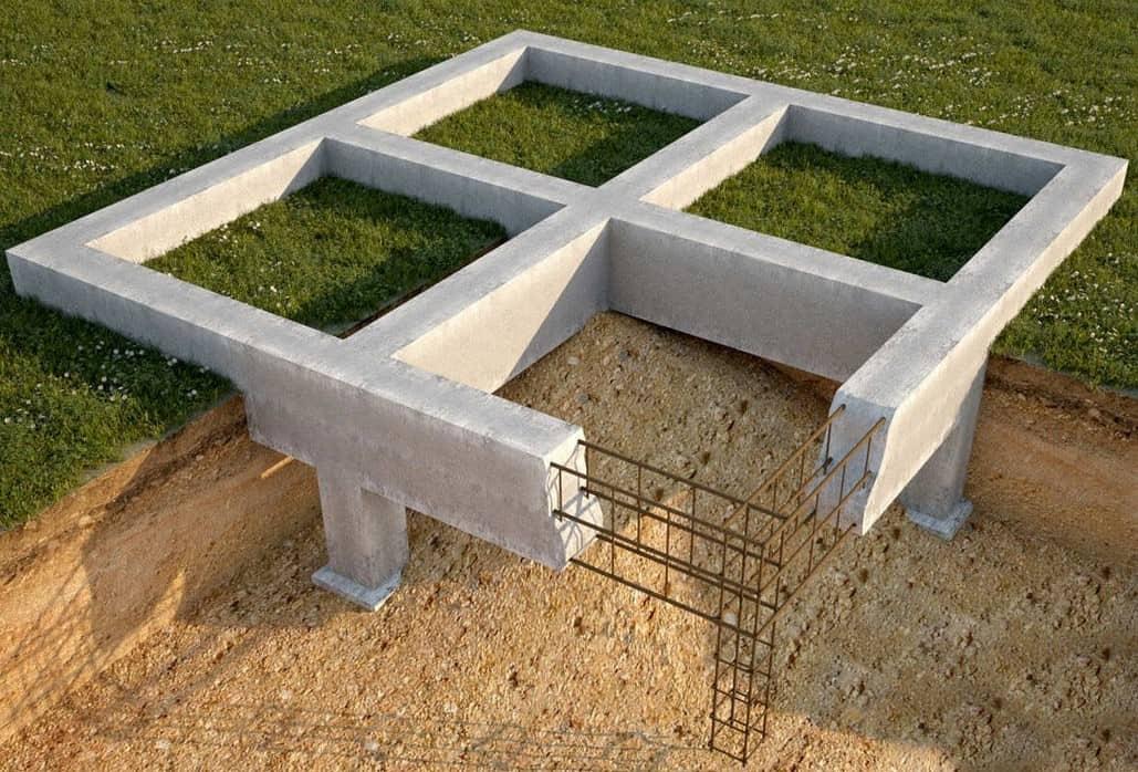 foundation on loose ground