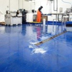 Floors for meat and seafood processing