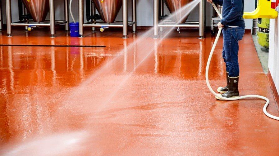 Покрытия для пола пивоваренных заводов, винодельни и ликеро-водочных заводов