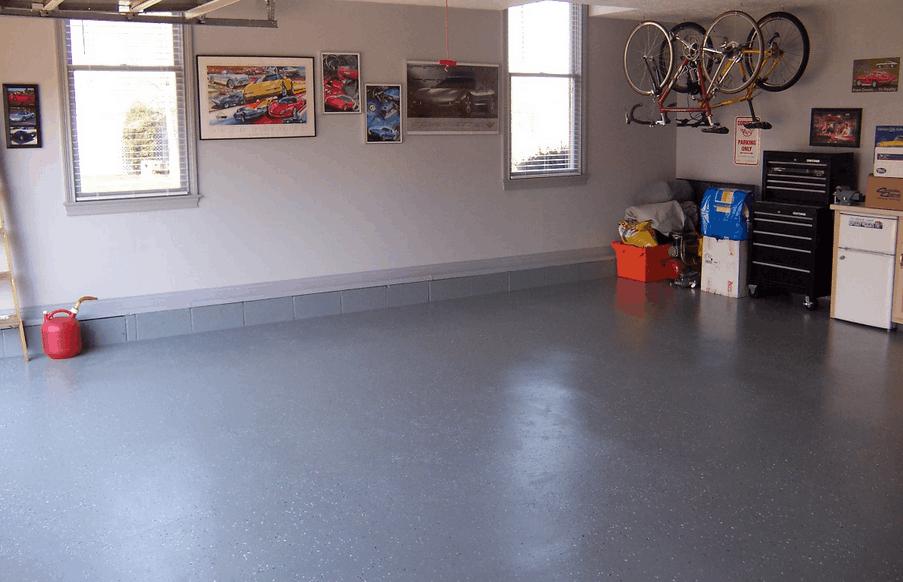пол для гаража