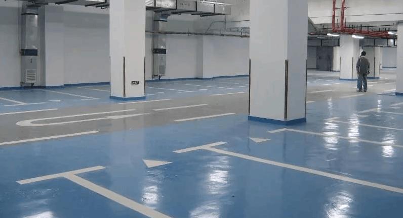 Pokraska betonnogo pola