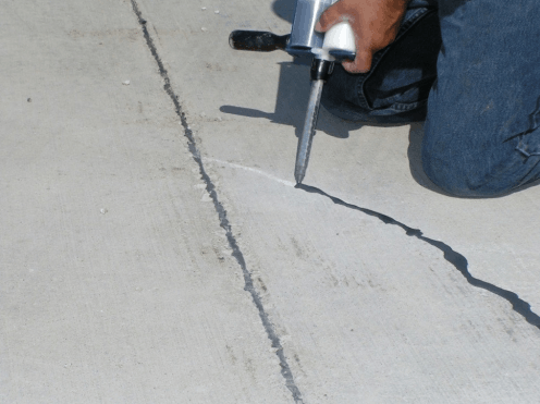 Качественное устранение, дефектов бетонного пола