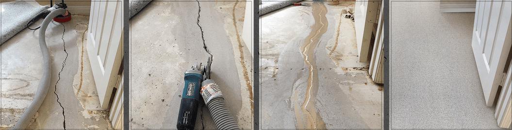 ремонт трещин в бетонных полах
