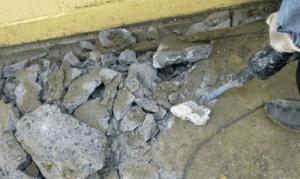 Демонтаж бетонного пола