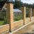 Фундамент под забор с кирпичными колоннами